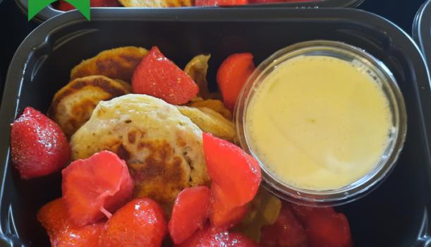 Dziś podczas lunchu wybierzemy się na amerykańskie pancakes w fit wydaniu od Fit Wujka